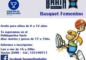 Bahía Basket femenino