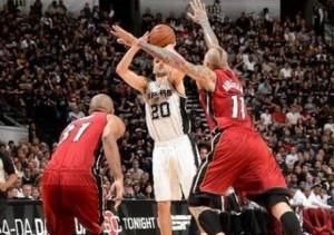 Spurs Heat 1 1