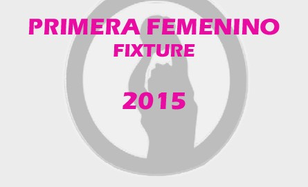 Primera Femenino Fixture