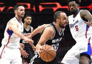 Spurs Clippers Ginóbili