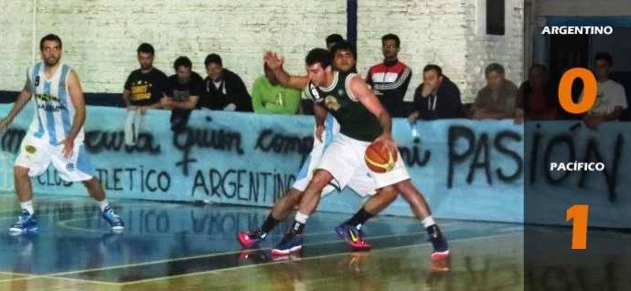 Argentino 0-1 Pacífico
