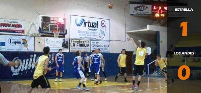 Estrella 1-0 Los Andes