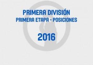 Primera Primera Tabla 2016