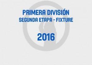Primera Segunda Fixture 2016