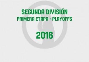 Segunda Primera Playoffs 2016