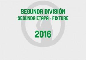 Segunda Segunda Fixture 2016