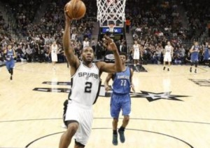 Leonard Spurs NBA