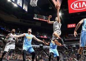 NBA Ginóbili Spurs Nuggets