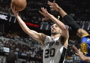 Ginóbili Warriors Spurs NBA