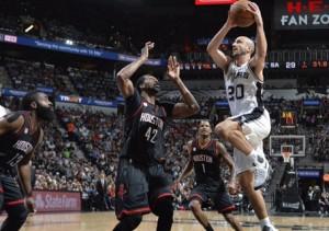 Spurs Rockets Ginóbili NBA